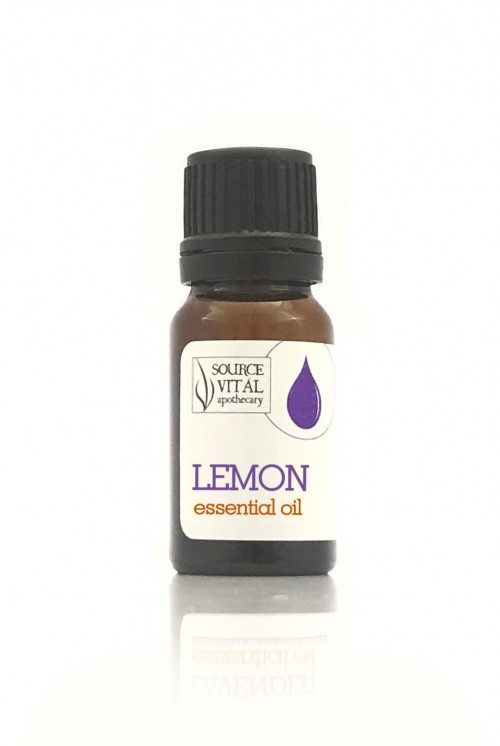 Lemon Essential Oil bottle